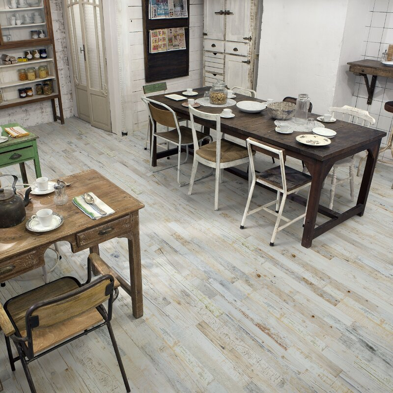 Elitetile Zara 288 X 265 Porcelain Wood Look Tile In Graybeige