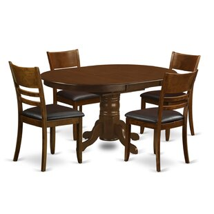 Aimee 5 Piece Dining Set August Grove