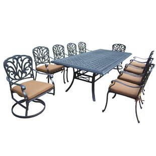 Bosch 38 Piece Bar Height Dining Set with Cushions