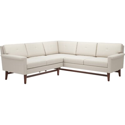 Angled Corner Sectional Sofa Wayfair