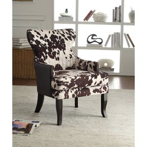 Animal Print Accent Chairs You\'ll Love | Wayfair