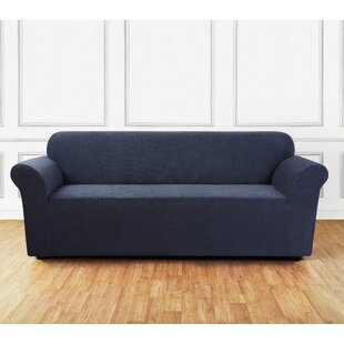 Ultimate Stretch Chenille Box Cushion Sofa Slipcover
