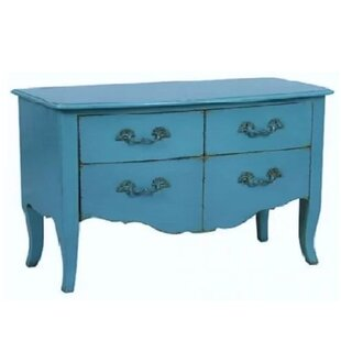 Christiane 4 Drawer Double Dresser