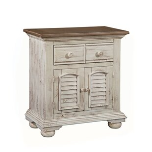 Wabansia 1 Drawer Nightstand by Ophelia & Co.