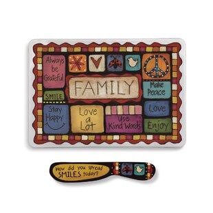 Gullo Family Values Melamine Platter