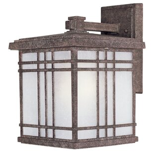 Sawyer 1-Light Outdoor Wall Lantern (Set of 4) By Loon Peak Outdoor Lighting