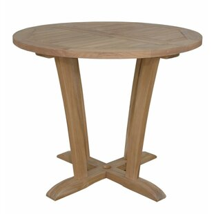 Savings Descanso Wooden Bistro Table Purchase Online
