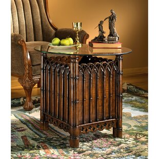 Essex House Gothic Display End Table