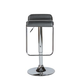 Kinton Adjustable Height Swivel Bar Stool Wade Logan