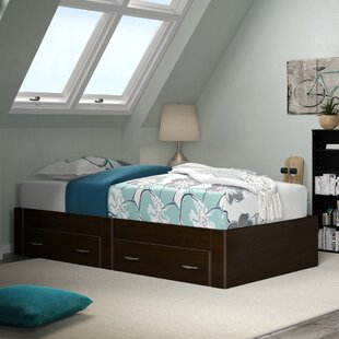 Noonday Twin Storage Platform Bed by Harriet Bee