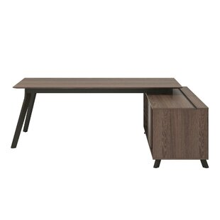 Hugues L-Shape Writing Desk by Comm Office Today Only Sale