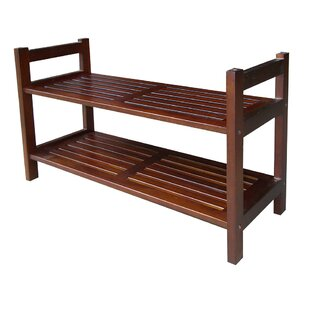 Great Price Stackable 2-Tier Shoe Rack By ORE Furniture