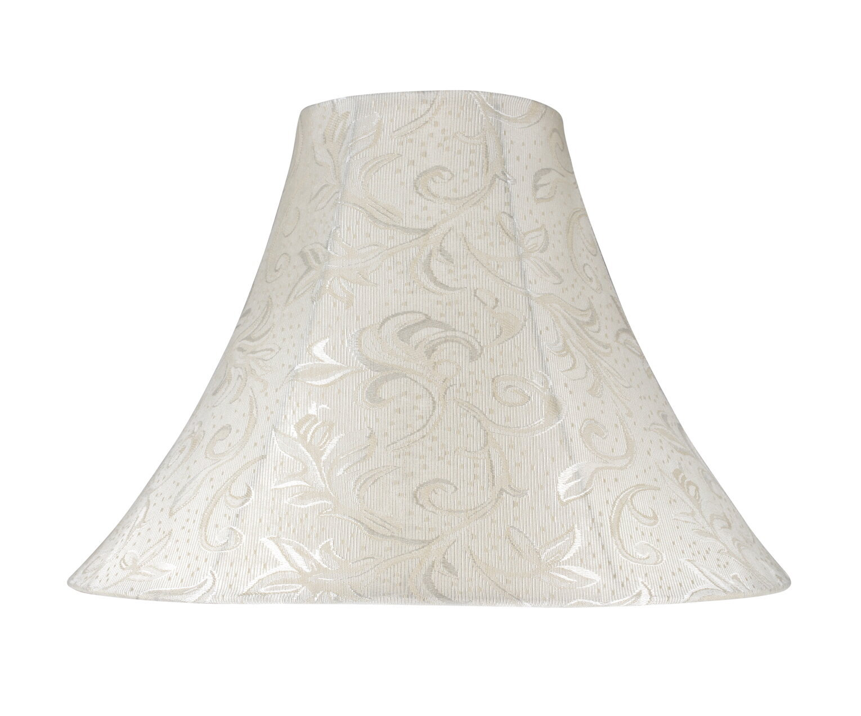 Aspen creative corporation 16 fabric bell lamp shade wayfair aloadofball Image collections