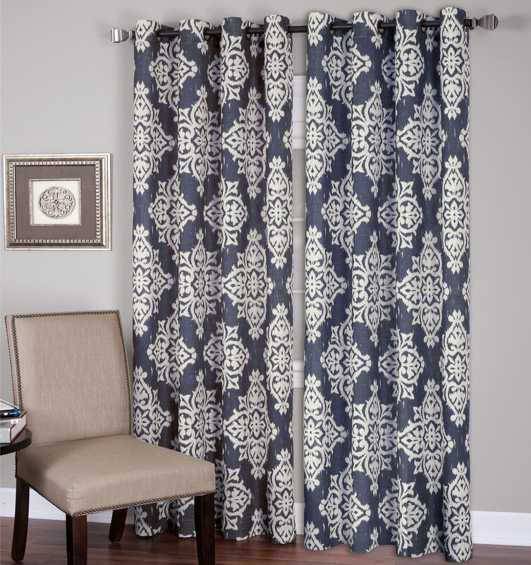 Elrene Home Fashions Medina Single Curtain Panel Reviews