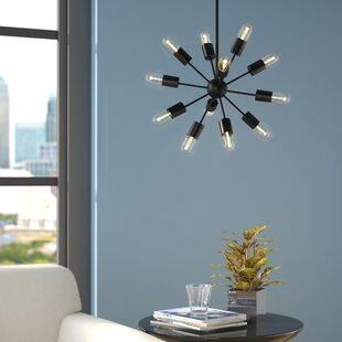 Stokely 12-Light Sputnik Chandelier