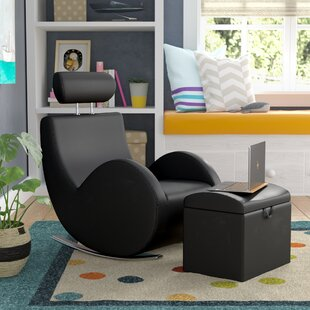 Searching for Torre Kids Rocking Chair and Ottoman with Storage Compartment By Viv + Rae