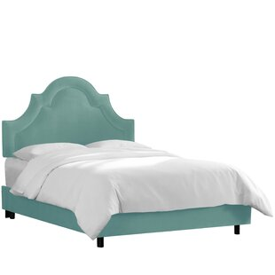 Shop For Mountain Arched Border Upholstered Panel Bed by House of Hampton Reviews (2019) & Buyer's Guide