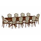 Regency 11 Piece Drop Leaf Dining Set by Jonathan Charles Fine Furniture