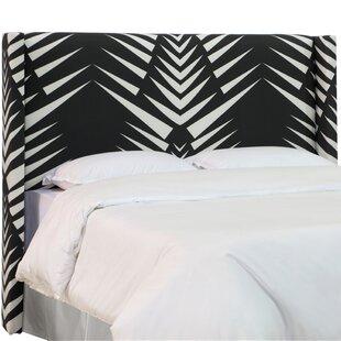 Affordable Price Terrazas Linen Upholstered Wingback Headboard by Brayden Studio