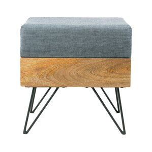 Placer Square Ottoman by Langley Street