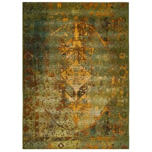 Michaella Kermin Green Indoor/Outdoor Area Rug