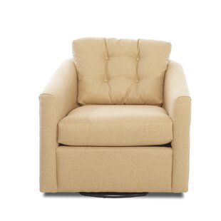 Britta Swivel Armchair by Darby Home Co