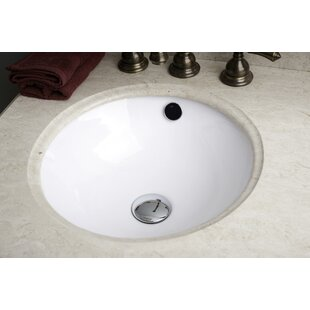 Affordable Price Ceramic Circular Undermount Bathroom Sink with Overflow ByRoyal Purple Bath Kitchen