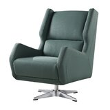 Sarah-Louise Swivel 20 Wingback Chair by Orren Ellis