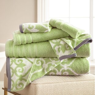 Parrino 6 Piece 100% Cotton Towel Set by Three Posts