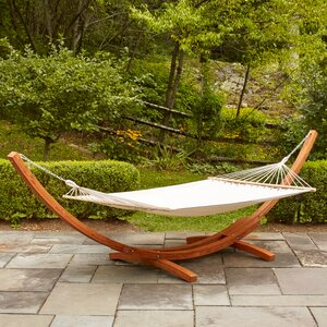 Kouklia Double Hanging Chaise Lounger with Stand