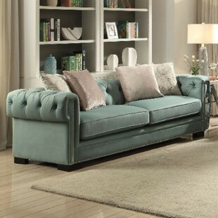 Armand Upholstered Chesterfield Sofa Highland Dunes