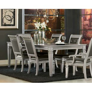Julianne Butterfly Leaf Solid Wood Dining Table