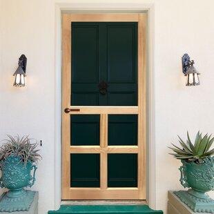 Exterior Wood Screen Doors | Wayfair on