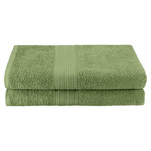 Petrie 2 Piece 100% Cotton Bath Sheet Set (Set of 2) by The Twillery Co.