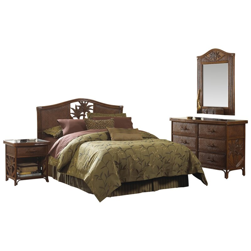 Wicker & Rattan Bedroom Sets You\'ll Love | Wayfair