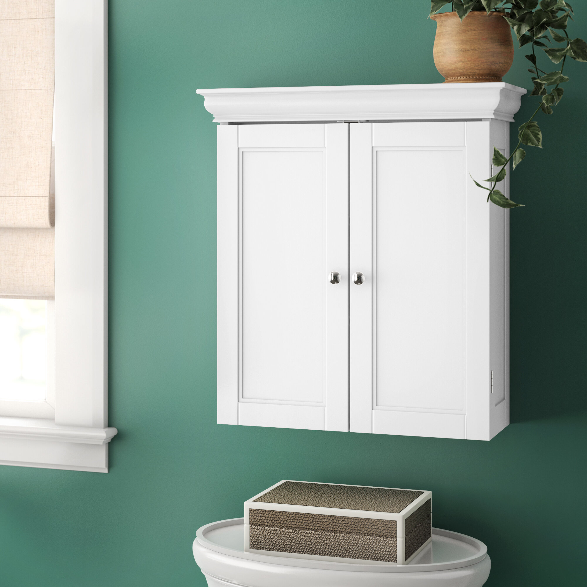 Wall Mounted Bathroom Cabinets You Ll Love In 2020 Wayfair