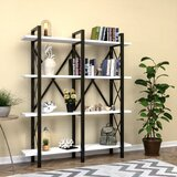 Laux 70'' H x 59 W Metal Etagere Bookcase by 17 Stories