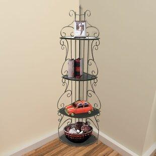 Clemmons Corner Bookcase by Fleur De Lis Living