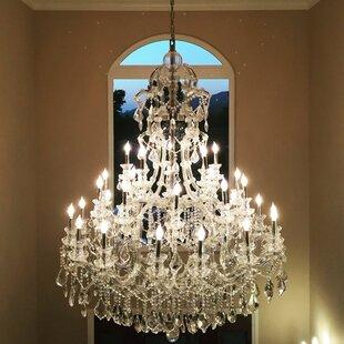 Kiazolu 48-Light Candle Style Chandelier