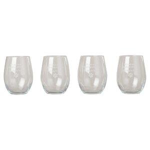 Castilleja The Dog is Home Stemless 21 oz. Wine Glass (Set of 4)