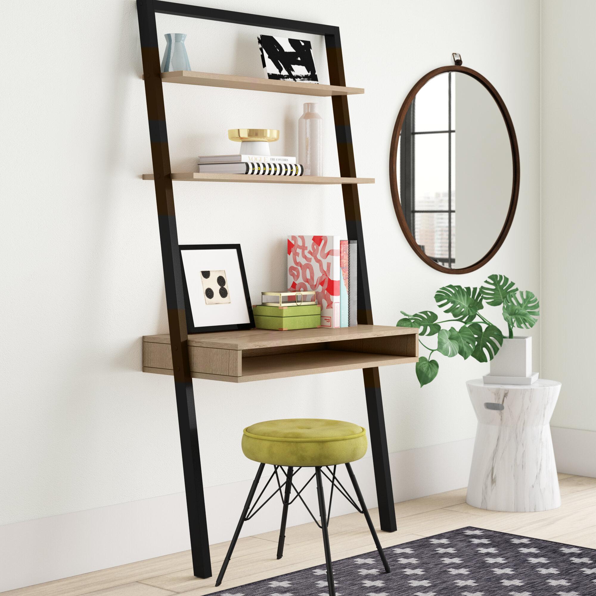 Leaning Ladder Desks Wayfair