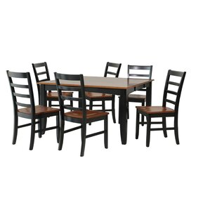 Wabasca 7 Piece Dining Set by TTP Furnish