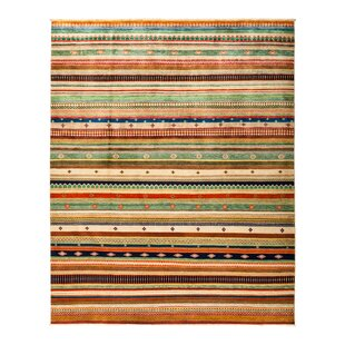 Affordable One-of-a-Kind Lori Hand-Knotted Multicolor Area Rug By Darya Rugs