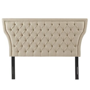 Compare Nashville Queen Upholstered Panel Headboard by Everly Quinn
