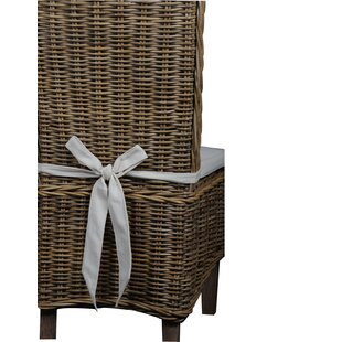 Leverett Patio Dining Chair with Cushion by Rosecliff Heights