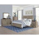 Lorsworth Queen Standard Solid Wood Configurable Bedroom Set by Greyleigh