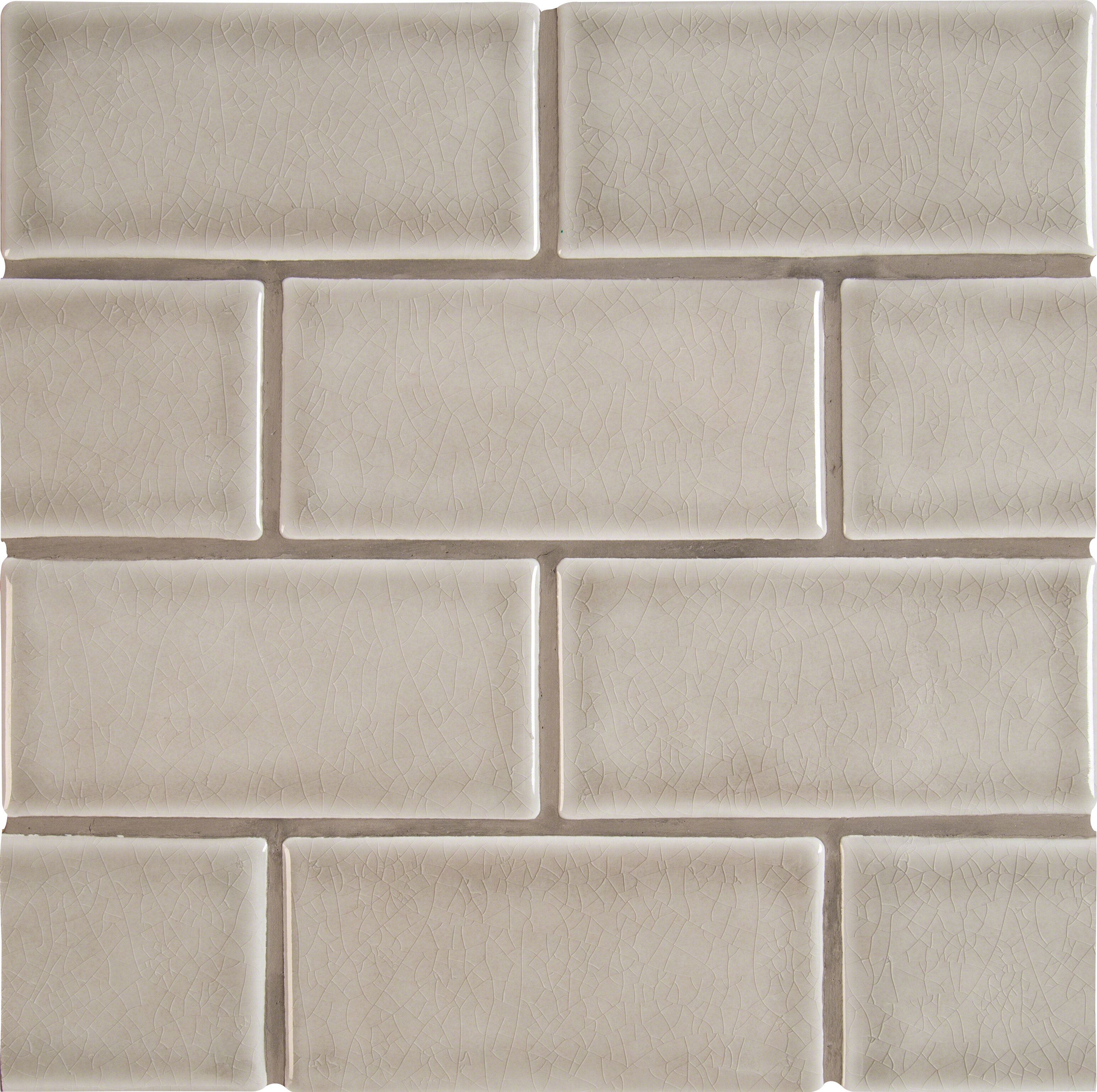 M s international wayfair 3 x 6 ceramic subway tile in dove gray dailygadgetfo Gallery