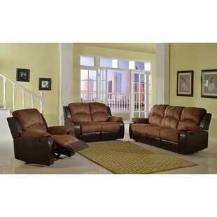 Riaan 3 Piece Reclining Living Room Set