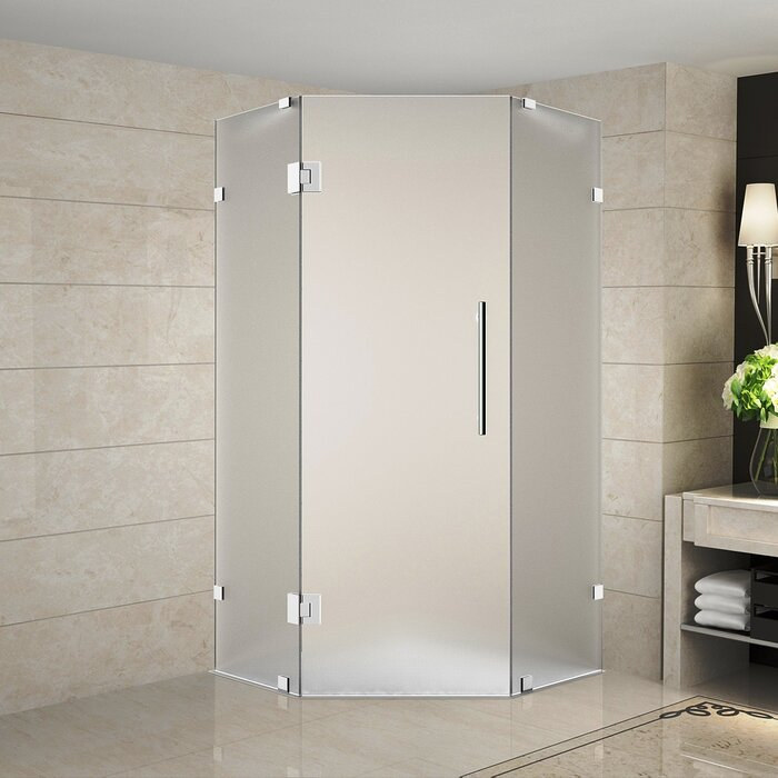Aston Neoscape 36 X 72 Hinged Frameless Shower Door Wayfair