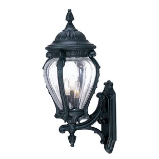 Comparison Pursell 3-Light Outdoor Sconce By Charlton Home